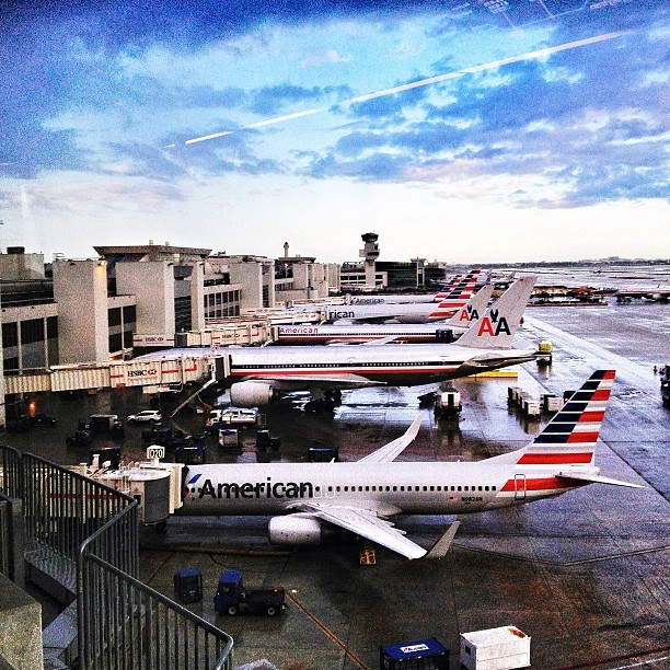 Leaving a dreary Miami… #miami #americanairlines #flyaa #mia