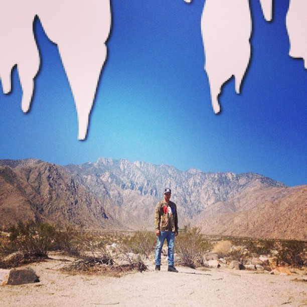 Ice Sickles in the desert? Must be the #beentrill app
