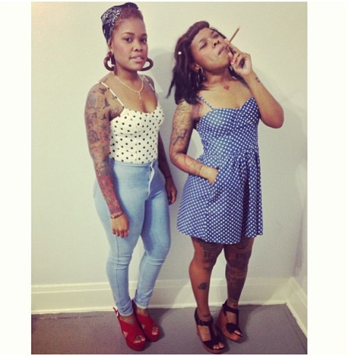 bowdowntojazzy:  all you need is us for a good time @salutejenn