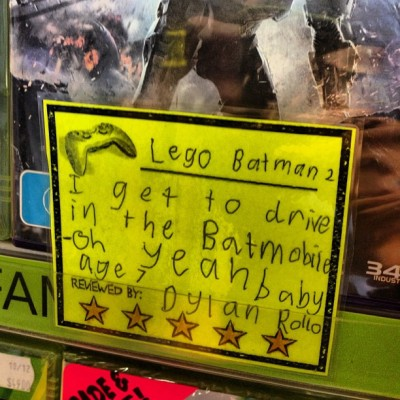 Lego Batman 2 Fuck yeah it's good to be a 7 year old these days! - via jon_a_k