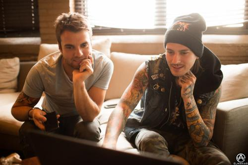 curve-approaching:  Rian Dawson and Mike Fuentes by Adam Elmakias