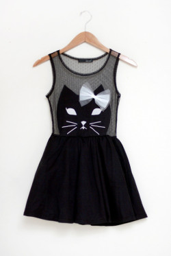brave:  cat dress in stock!