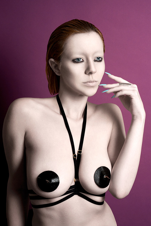 catherine-day:  Photography - Catherine DayModel - Vicki BlatchleyHarness and Pasties - Karolina Laskowska  Shh… But in an attempt to raise money for a uni project I'm selling a handful of these harnesses for just £20 (normally £45!). Enter 'save-the-lace' at checkout in my shop for the discount but be quick - only accepting a few of these orders!  xx