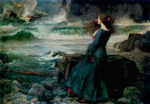 basilrain:  Artist: John William Waterhouse Title: Miranda