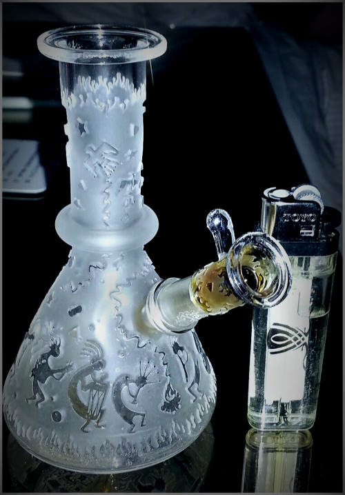 life-islikeamovie:  LIBERTY Glass   ——- RIP Buddha ——- Super Mini tube with 10mm joint. Not much bigger than a lighter, and rips super hard. Dope blastings too
