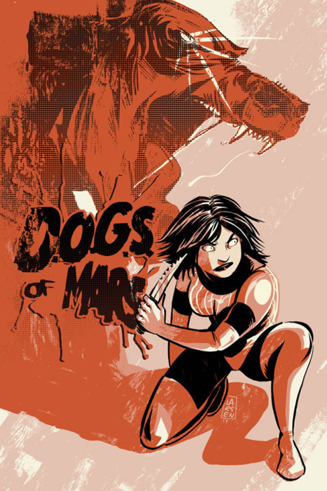 Check out this amazing D.O.G.S. of Mars fan art by Christine Larsen. Like what you see? You can check out more here.