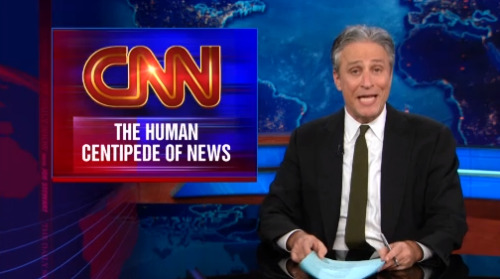 "Jon Stewart tears apart CNN for ""completely fucking wrong"" Boston reporting."