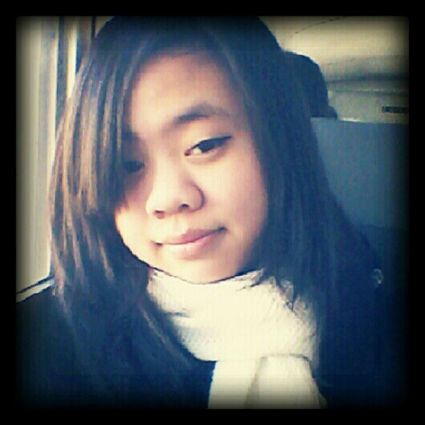 Its #cold outside. And i am recovering from being #sick hehe. #me #selfie #winter #scarf