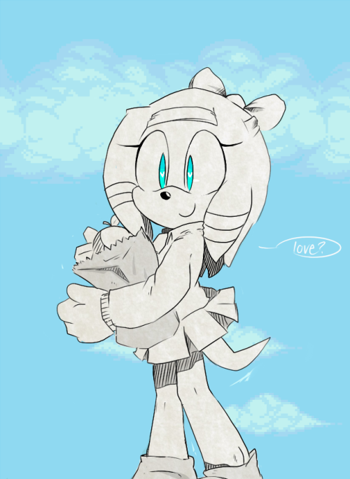 "Tikal for Elly&Bluey!  !!!!!!!!!!!(ᅌᴗᅌ* ) tikal is a sweetie and i wanted her in a uniform""//"