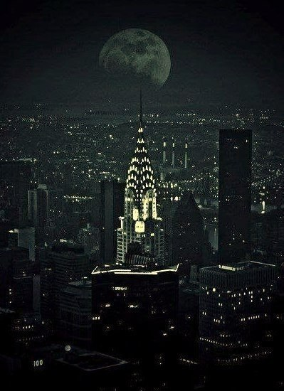 moonlit—night:  nyc on We Heart It. http://weheartit.com/entry/55597362/via/Oilaly