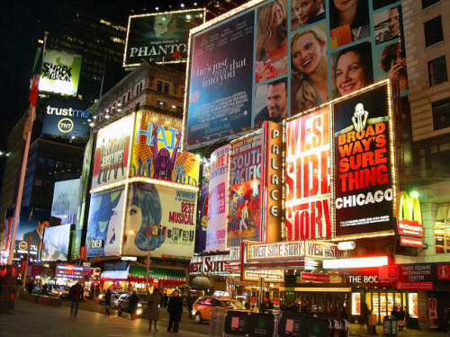 somefrankenteencalledfranky:  broadway, where musical-dreams come true.