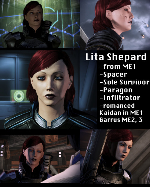My femshep, Lita Shepard.  Now immortalized on the internets :) —submitted by lividnebulae