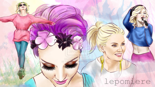 Perrie Edwards by ~LePomiere