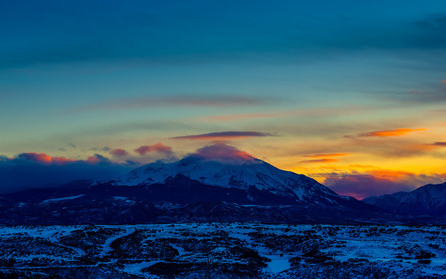 Mount Sopris Sunset on Flickr.