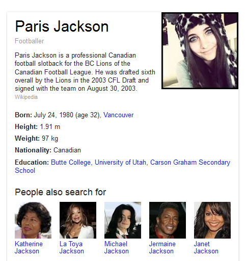 stacymjxx:  wtf is this google  LOL WITH HER PICTURE