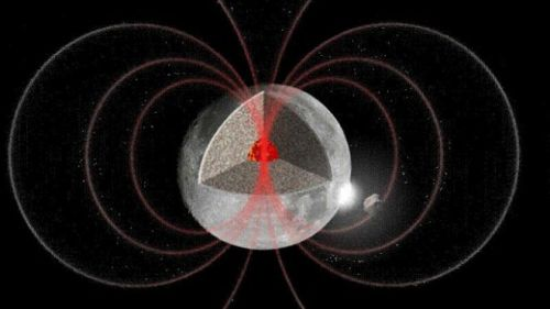 thenewenlightenmentage:  Mystery of Moon's Magnetic Field Deepens The moon generated a surprisingly intense magnetic field until at least 3.56 billion years ago, 160 million years longer than previously thought, a new study reports. These findings could shed light not just on the magnetic field of the moon, which is now extremely weak, but on that of asteroids and other distant worlds, investigators added. Continue Reading
