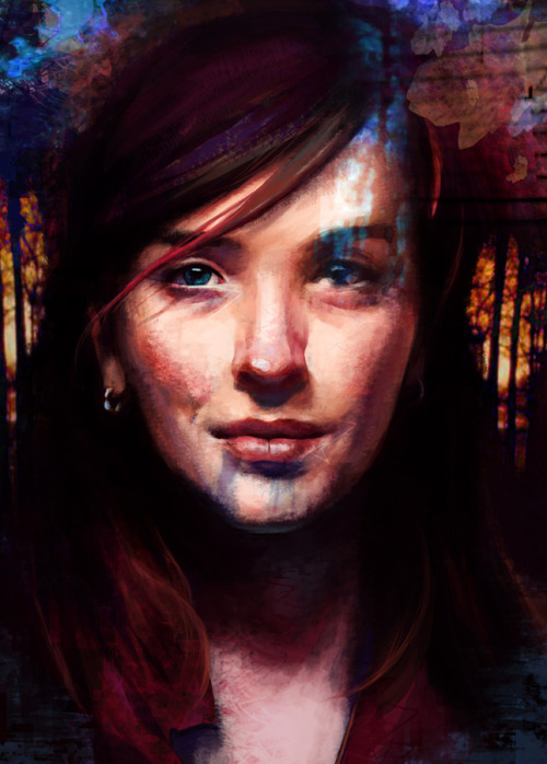 gabriellaliv:  Portrait - Personal Piece  beautiful