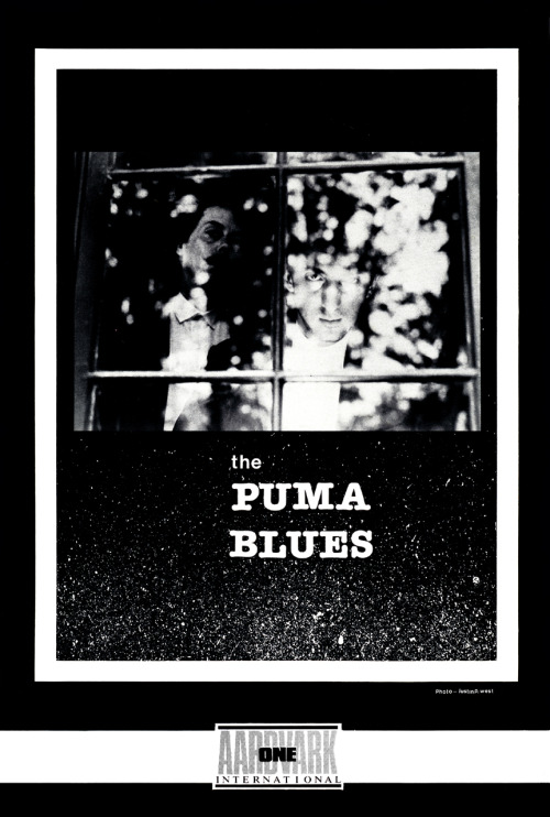 Happy birthday, Michael Zulli! Promotional ad for The Puma Blues featuring co-creators Michael Zulli (at left) and Stephen Murphy, 1986.