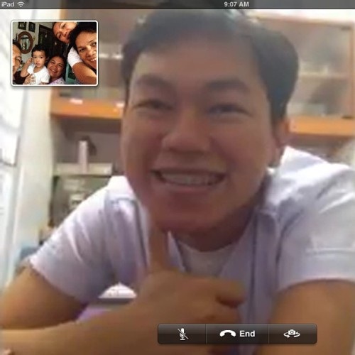 Had a 49 minute facetime with Kuya! We ❤ and miss ü Kuya! 😘 (at Tanjay City)