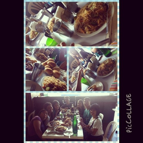 a busog afternoon with these people and ofcourse with The Maam G. :)) #piccollage