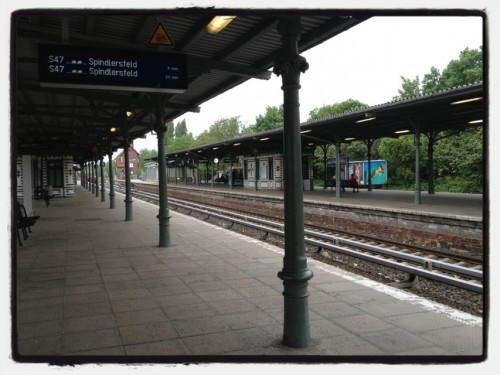 waiting for a train at S-Bhf Schöneweide by Econet46 on EyeEm