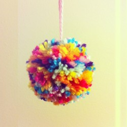 Basically the cutest pom pom I've ever made. Must be all the new wisdom and experience that comes with turning a year older …