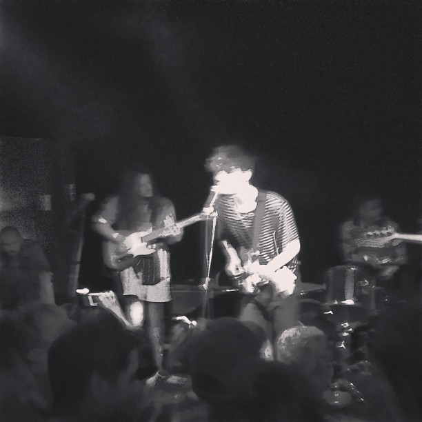 Beach Fossils moshing (at Red 7)