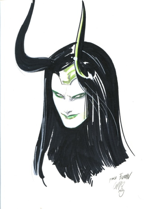 homovikings:  lady loki by pepe larraz