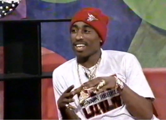 yazzyshakur:  Tupac's first appearance on BET's Video LP