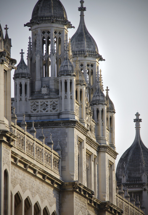 lndnwlkr:  Maughan Library, King's College London, Chancery Lane, London (by Kotomicreations)