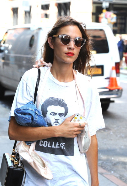 livefastdiechung:  Alexa Chung is seen in Soho on September 5, 2014 in New York City.