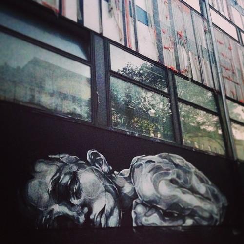 #streetart #berlin #wedding #stadtbad #lostinwedding #blackandwhite #instagraff #graffiti #paoladelfin