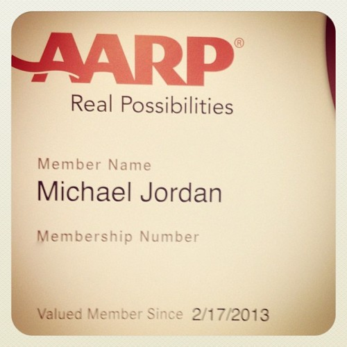sportsnetny:  aarp_official • Instagram: Our gift to His Airness. May the next 50 be even more legendary. #BeLikeMike