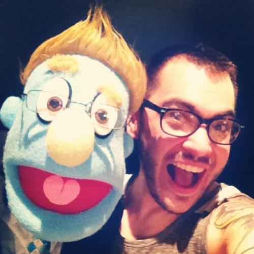 I am NOT a closeted-homo-whatever! #gpoy #avenueq #broadway #rod