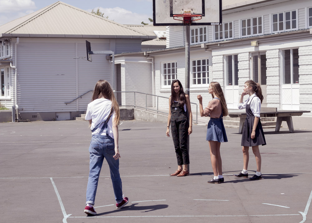 Schoolyard. Photo: James K Lowe.