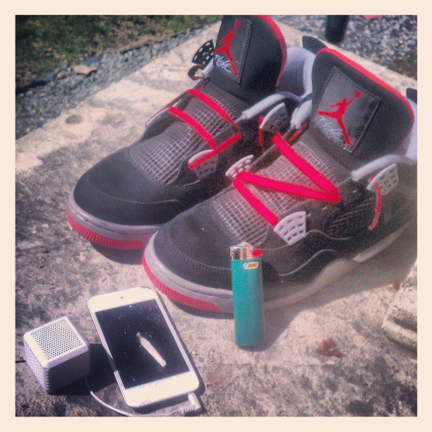 Before gettin towards tha #meditation grind with my #BestBelieveable #bred4s