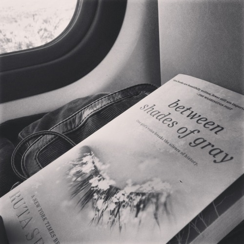 seizethebook:  I always find some peace and tranquility in reading while on a train ride.