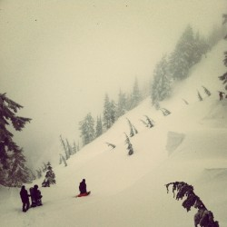 Stevens Pass sidecountry hike. Searching for the deep pow? We found it.