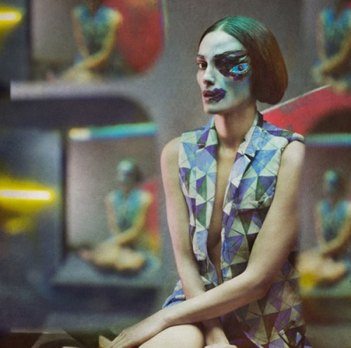 a-state-of-bliss:  Picasso Paintings As Fashion - Laura Ponte by Eugenia Recuenco