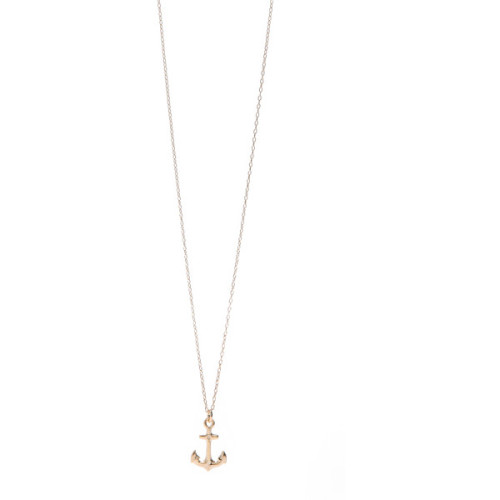 Bing Bang Anchor Necklace   ❤ liked on Polyvore (see more anchor necklaces)