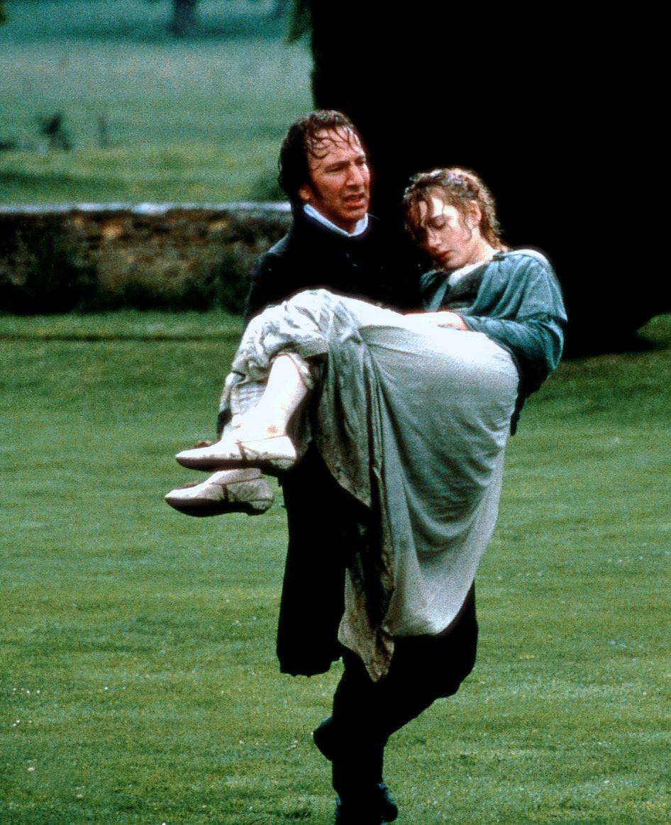 Alan Rickman & Kate Winslet in Sense and Sensibility