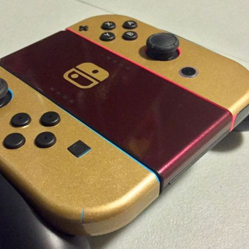 Nintendo Switch: Famicom Edition#nintendoswitch #customized #famicom #nintendo #switch #custom #mario #botw #breathofthewild #videogames #amazing #awesome #console #handheld #handheldgaming