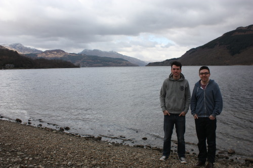 Sunday trip up to Loch Lomond. Snowstorm on the way back but a dry and cold day other than that.