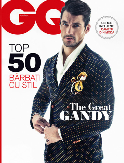 David Gandy for GQ [Romania, Spring 2013]