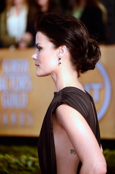 Jaimie Alexander; 2013 SAG Awards Red Carpet