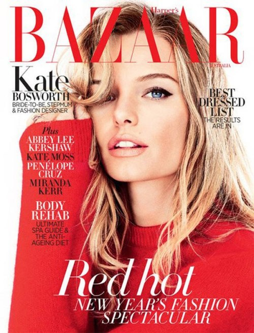 Kate Bosworth - Harper's Bazaar Australia  She looks stunning.  Love her makeup.
