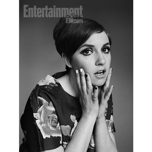 (via Beauty How-To: Lena Dunham's Twiggy-inspired hair and makeup — EXCLUSIVE | PopStyle | EW.com)