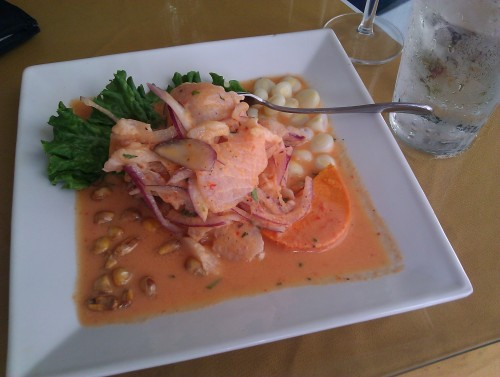 finally got my ceviche on!  at mancora ceBicheria in redwood city!  SOOO GOOOD