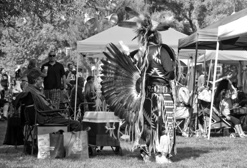 Powwow 2013 in B&W I: East Quad. UC Davis, 04-13-13.