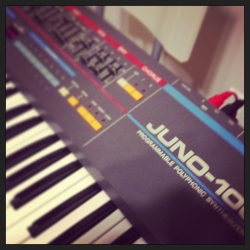 A wild Juno-106 appears! Juno-106 used typical 80's pads. It's super effective!